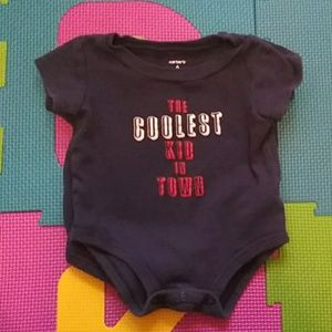 """The coolest kid in town"" bodysuit"